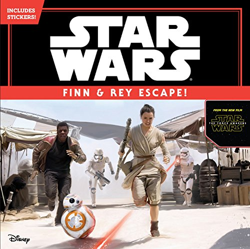 9781484704790: Star Wars The Force Awakens: Finn & Rey Escape! (Includes Stickers!)
