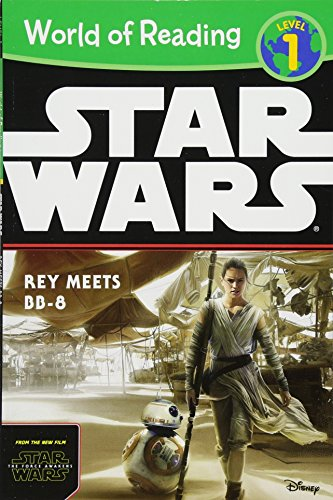 9781484704806: World of Reading Star Wars The Force Awakens: Rey Meets BB-8: Level 1