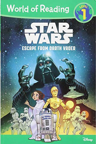 9781484705001: Star Wars: Escape from Darth Vader (World of Reading: Star Wars, Level 1)