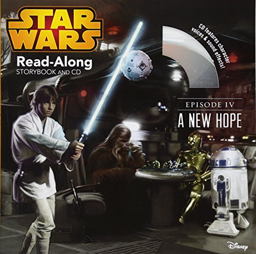 Star Wars A New Hope Read-Along Storybook and CD