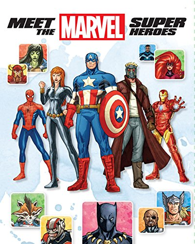 Meet the Marvel Super Heroes , 2nd Edition: Wyatt, Chris