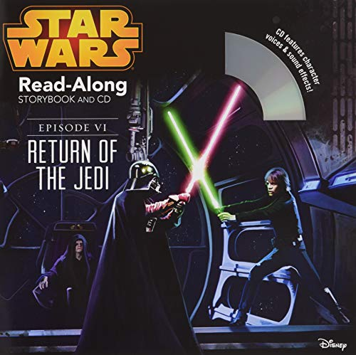 9781484706855: Star Wars: Return of the Jedi Read-Along Storybook and CD