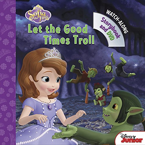 9781484706961: Sofia the First Let the Good Times Troll: Book with DVD