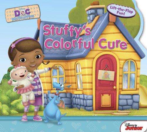 Doc McStuffins Stuffy's Colorful Cure (Sneak-A-Peek): Disney Book Group
