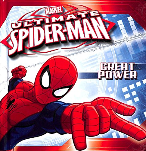 Ultimate Spider-Man: Great Power Board Book: Marvel Press