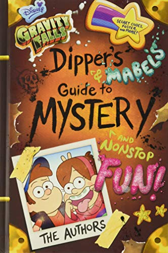 9781484710807: Gravity Falls Dipper's and Mabel's Guide to Mystery and Nonstop Fun!