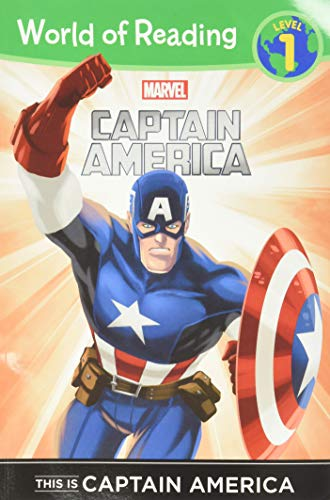 9781484712672: World of Reading This is Captain America: Level 1