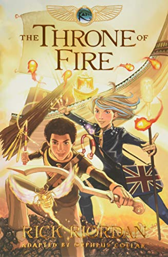 9781484714935: The Throne of Fire: The Graphic Novel