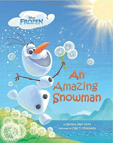 9781484717974: Disney Frozen - An Amazing Snowman