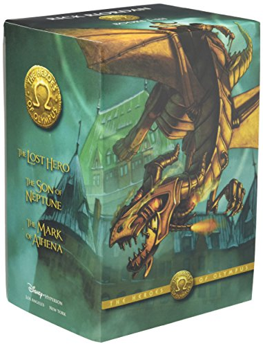 The Heroes of Olympus Boxed Set: The Lost Hero/The Son of Neptune/The Mark of Athena: ...