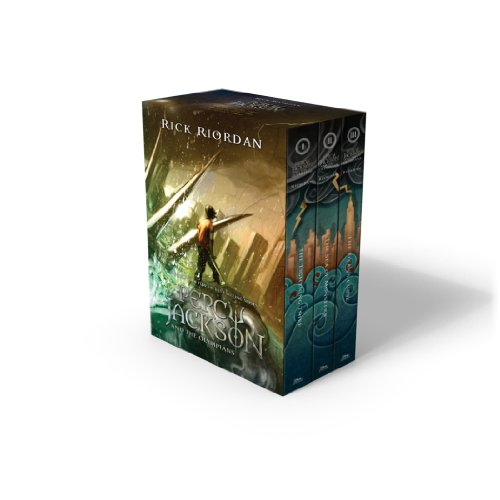 9781484721476: Percy Jackson and the Olympians 3 Book Paperback Boxed Set with new covers (Percy Jackson & the Olympians)