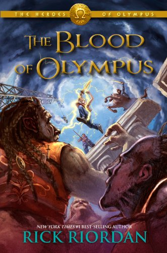 9781484721834: [The Blood of Olympus: Heroes of Olympus] (By: Rick Riordan) [published: October, 2014]