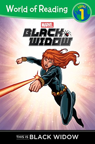 9781484725177: World of Reading: Black Widow This is Black Widow