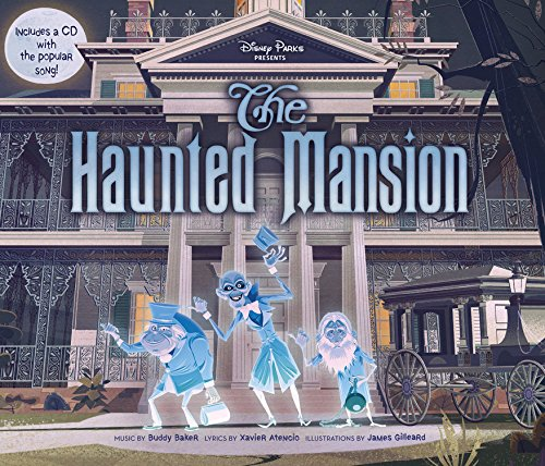 9781484727850: Disney Parks Presents: The Haunted Mansion: Purchase Includes a CD with Song!