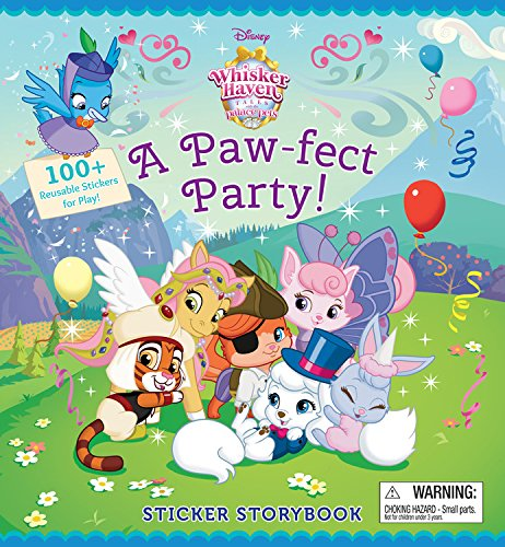 9781484729953: Whisker Haven Tales with the Palace Pets:: Sticker Storybook