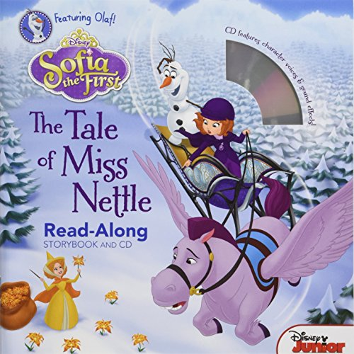 9781484730409: Sofia the First Read-Along Storybook and CD The Tale of Miss Nettle
