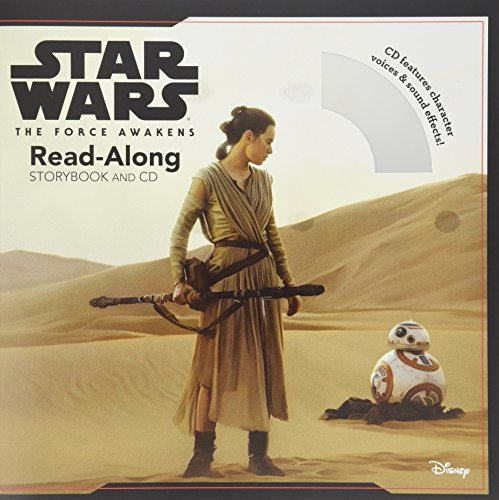 9781484731499: Star Wars The Force Awakens: Read-Along Storybook and CD