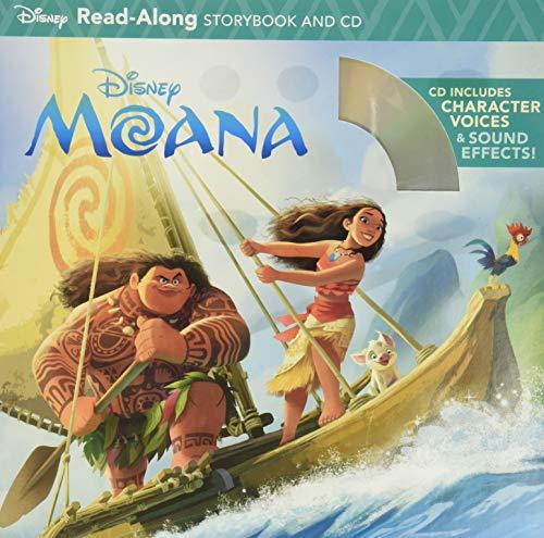 9781484743614: Moana Read-Along Storybook & CD (Disney Read-Along Storybook and CD)