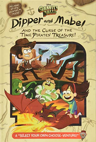 9781484746684: Gravity Falls: Dipper and Mabel and the Curse of the Time Pirates' Treasure!: A