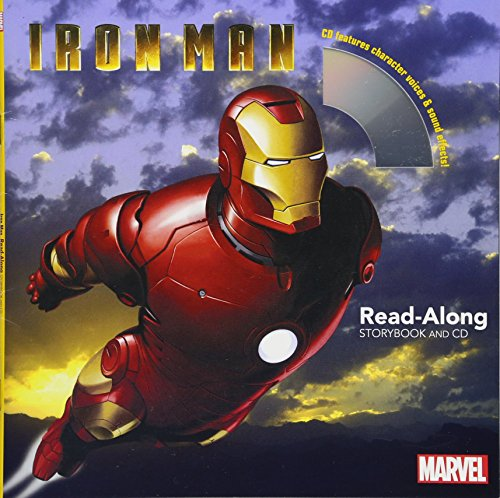 9781484751824: Iron Man Read-Along Storybook and CD