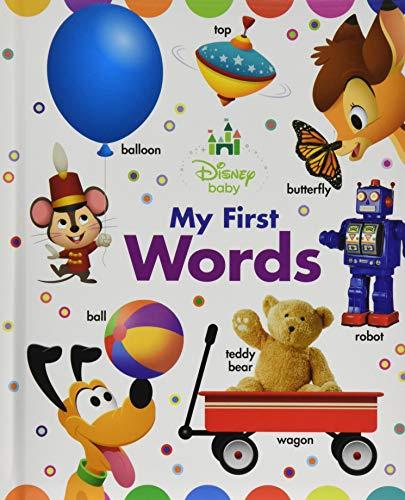 Disney Baby My First Words: Disney Book Group