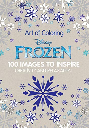 9781484757390: Art of Coloring Disney Frozen: 100 Images to Inspire Creativity and Relaxation (Art Therapy)