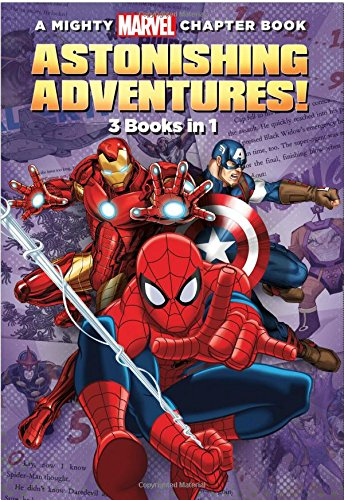 Astonishing Adventures!: 3 Books in 1! (A Mighty Marvel Chapter Book)