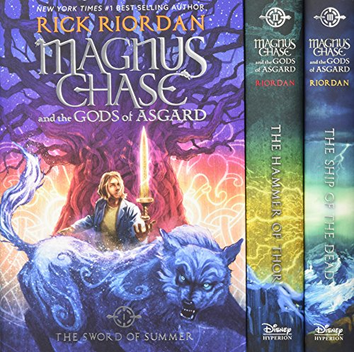 [signed] Magnus Chase and the Gods of Asgard Hardcover Boxed Set 9781484767375 Marking the culmination of this exciting trilogy, the hardcover editions of the #1 New York Times best-selling Magnus Chase and the Gods