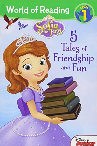 9781484775028: Sofia the First: Five Tales of Friendship and Fun (World of Reading)