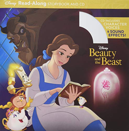 9781484776063: Beauty and the Beast Read-Along Storybook and CD (Disney Read-Along Storybook)