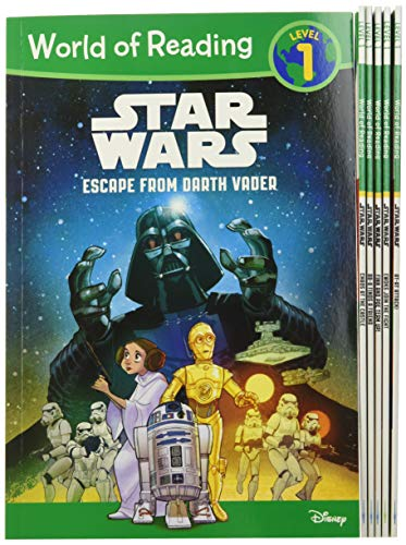 9781484780220: World of Reading Star Wars Boxed Set: Level 1 (World of Reading: Level 1)