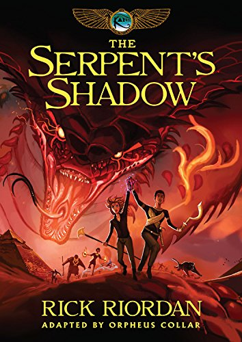 9781484781326: Kane Chronicles, The, Book Three The Serpent's Shadow: The Graphic Novel (The Kane Chronicles)