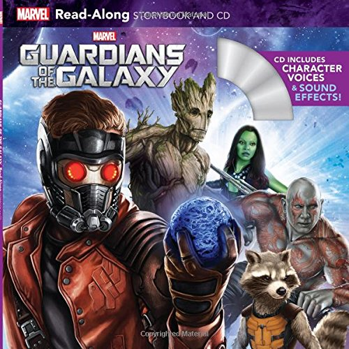 9781484781531: Guardians of the Galaxy Read-Along Storybook and CD