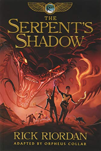 9781484782347: Kane Chronicles, The, Book Three The Serpent's Shadow: The Graphic Novel (The Kane Chronicles)