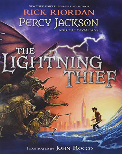9781484787786: Percy Jackson and the Olympians the Lightning Thief Illustrated Edition