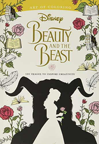9781484789728: Art of Coloring: Beauty and the Beast: 100 Images to Inspire Creativity (Colouring Books)