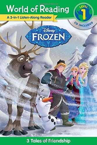 World of Reading: Frozen Frozen 3-in-1 Listen-Along: Disney Book Group
