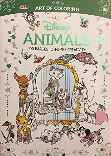 9781484799543 Art Of Coloring Disney Animals Walmart Black Friday