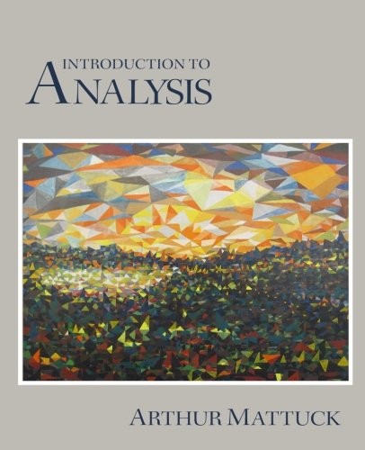 9781484814116: Introduction to Analysis