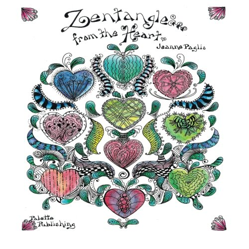 Zentangle from the Heart (1484832671) by Jeanne Paglio; Michael Hale