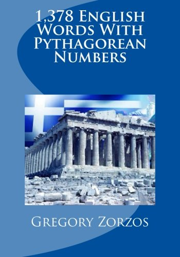 9781484838204: 1,378 English Words With Pythagorean Numbers