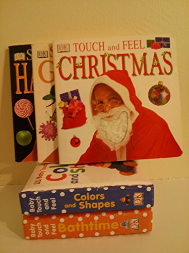 9781484841570: Dk Board Book Collection: Touch and Feel Christmas; Scratch and Sniff Garden; Scratch and Sniff Halloween; Touch and Feel Shapes and Colors; Touch and Feel Bathtime (Board Book Sets for Toddlers)