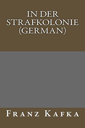 9781484850404: In der Strafkolonie (German)