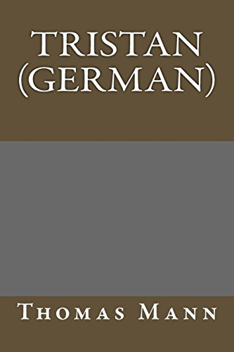 9781484852361: Tristan (German) (German Edition)