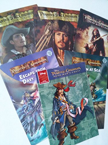 9781484857854: Pirates of the Caribbean Level Readers Collection (Children Book Sets : Grade 1 - 3)