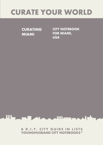 9781484862438: Curating Miami: City Notebook For Miami, USA: A D.I.Y. City Guide In Lists (Curate Your World)