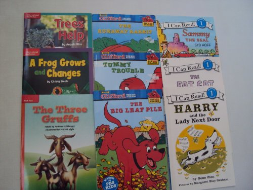 Book Sets : Level 1 Reading Books : Clifford the Big Red Dog - The Three Gruffs - Sammy the Seal - Harry and the Lady Next Door - Tummy Trouble - (An Unofficial Box Set - Step 1 Books) (1484869141) by Norman Birdwell; Gene Zion; Syd Hoff