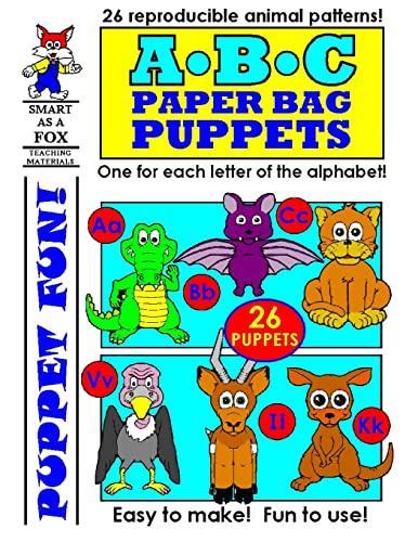 9781484880197: ABC Paper Bag Puppets