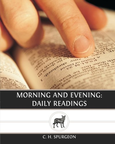 Morning and Evening: Daily Readings (9781484881675) by C. H. Spurgeon