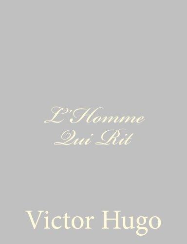 9781484891445: L'homme Qui Rit